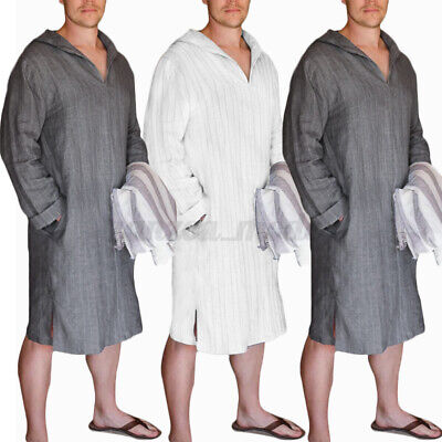 Adult Surf Beach Bath Poncho Wetsuit Changing Robe Hoodies Bathing Dress For Men • 13.79£