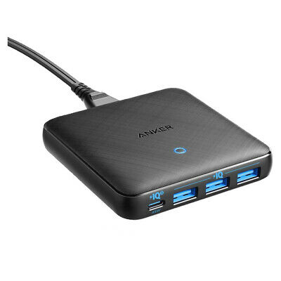AU109.99 • Buy Anker PowerPort Atom III Slim 65W Charger A2045T11 - Black Fabric