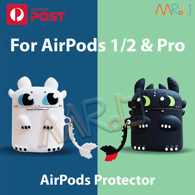 AU16.68 • Buy AirPods 1/2 Pro Silicone Gel Case Shockproof Protector Cover Skin Earbuds Airpod