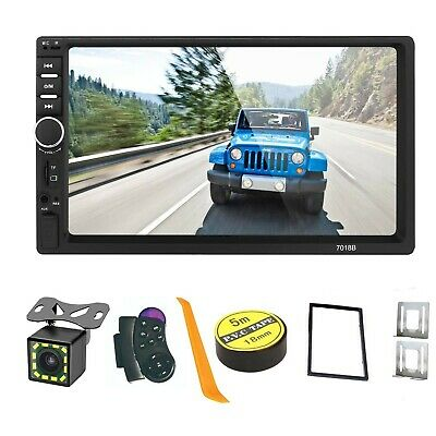 $ CDN93.57 • Buy Mirror Link 7 Inch 2 Din Capacitive Touch Screen Car Stereo In-Dash Bluetooth...