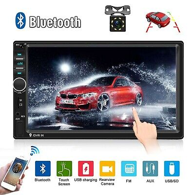 $ CDN93.55 • Buy Car Radio Double Din Car Stereo 7  LCD Touch Screen In-Dash Head Unit With Bl...