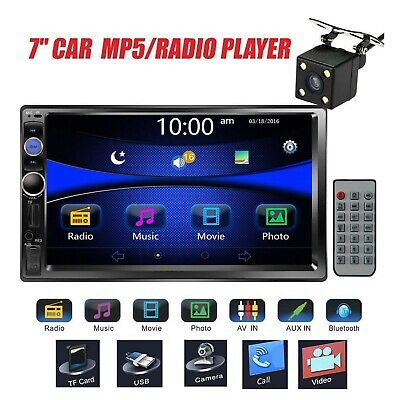 $ CDN132.13 • Buy Car Stereo Double Din Radio With Rear View Camera, Regetek 7  Touchscreen In ...
