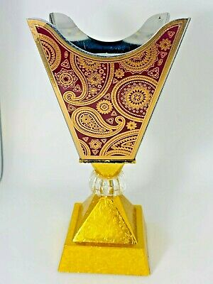 Arabian Style Metal Incense Burner Bakhoor Bukhoor Frankincense Oud Holder Multi • 10.99£