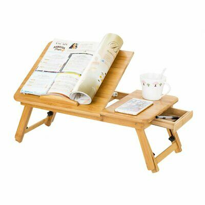 Bamboo Portable Folding Legs Laptop Notebook Table Bed Sofa Tray PC Desk Stand • 13.95£
