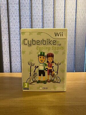 Cyberbike Cycling Sports Wii  |  Pre-Owned  |  Good Condition  |  TESTED • 5.99£