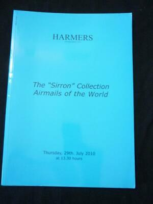£4.99 • Buy Harmers Auction Catalogue 2010 Airmails Of The World 'sirron' Collection