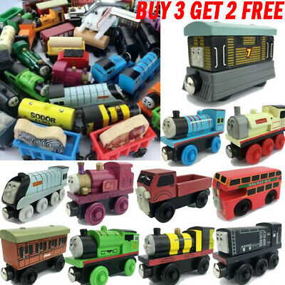 The Tank Engine Tender Wooden Magnetic Railway Train Truck Car Toys Kids Gifts • 2.87£