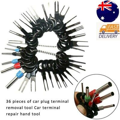 AU14.65 • Buy 36pc Wire Terminal Removal Tool Car Electrical Wiring Crimp Connector Pin Kit AU