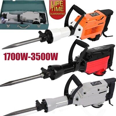 3500W Electric Demolition Hammer Breaker Jack Drill Concrete Hammer Power Tool • 112.74£