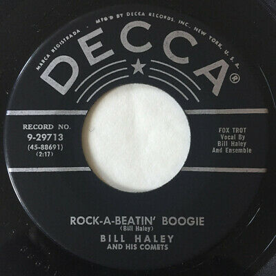 Bill Haley And His Comets - Rock-A-Beatin' Boogie (7 , Single) • 16.49£