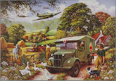 House Of Puzzles 1000 Piece Jigsaw Puzzle LAND GIRLS Unique Varied Pieces • 16.99£