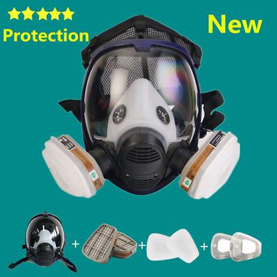 AU25.98 • Buy New 6800 Gas Mask 7 In 1 Full Face Chemical Spray Painting Respirator Vapour AU