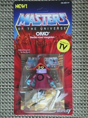 $30 • Buy Masters Of The Universe Orko Action Figure MOC Super 7 Vintage Series