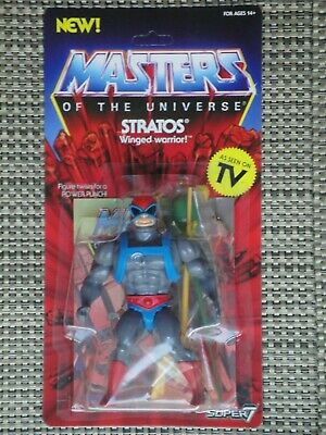 $35 • Buy Masters Of The Universe Stratos Action Figure MOC Super 7 Vintage Series