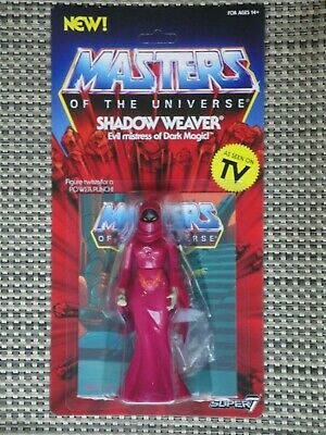 $38 • Buy Masters Of The Universe Shadow Weaver Action Figure MOC Super 7 Vintage Series
