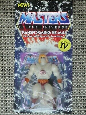 $38 • Buy Masters Of The Universe Transforming He-Man Action Figure MOC Super 7 Vintage