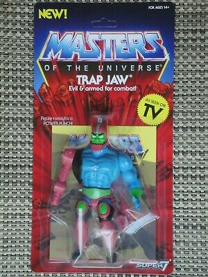 $50 • Buy Masters Of The Universe Trap Jaw Action Figure MOC Super 7 Vintage Series