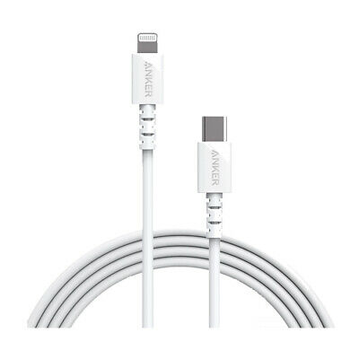 AU51.75 • Buy Anker PowerLine Select 1.8m USB-C To Lightning Cable A8613T21 - White