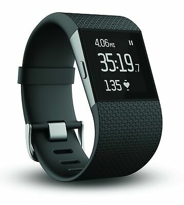 $ CDN67.59 • Buy Fitbit Surge Fitness Superwatch, Black, Small Small (5.5-6.3 In)