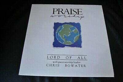 Chris Bowater - Lord Of All Vinyl LP UK 1988 Hosanna! Music HMR 21 • 30£