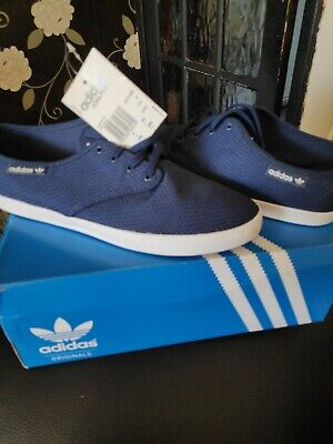 Adidas Originals Adria Ps W  Trainer's Size 8 Blue And White • 26.49£