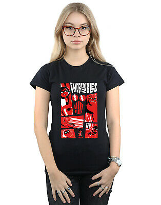 Disney Women's The Incredibles Collage T-Shirt • 16.99£