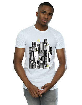 Disney Men's The Incredibles Skyline T-Shirt • 16.99£