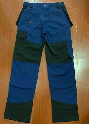 Rbc Work Trousers - New - Pro / Plus / Holster/ Blue And Black Cargo Pocket, • 32.97£