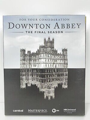 Downtown Abbey FYC DVD 8th Final Season 3-Discs For Your Consideration • 14.44£