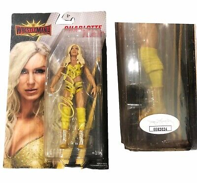 AU200.37 • Buy Wwe Charlotte Flair Hand Signed Autographed Toy Action Figure With Jsa Coa