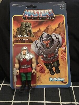 $25 • Buy Masters Of The Universe Reaction Figures Ram Man