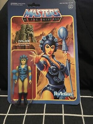 $25 • Buy Masters Of The Universe Reaction Figures Evil-Lyn