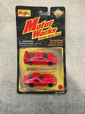 $ CDN27.21 • Buy Maisto Motor Works Ferrari Double Pack 1997 Ferrari F40 Ferrari Gto Very Rare