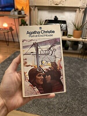 Agatha Christie Peril At End House Tom Adams Cover Paperback Book 1977 Fontana • 6£