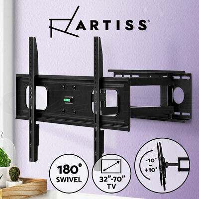 AU38.90 • Buy Artiss Full Motion TV Wall Mount Bracket Swivel LED LCD Plasma VESA 32-70 Inch