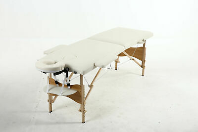 Folding Portable Massage Table Salon Tattoo Beauty Therapy Couch Bed Lightweight • 63.90£