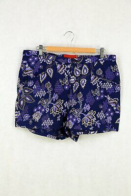 AU22 • Buy Tiger Lily Floral Shorts 12 By Reluv Clothing