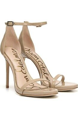 $ CDN60.12 • Buy Sam Edelman Ariella Ankle Strap Sandal Shoes Size 8.5M Nude