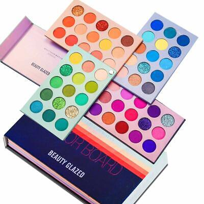 AU32.99 • Buy Beauty Glazed 4 In 1 Board 60 Colors Highly Pigmented Glitter Eyeshadow Palette