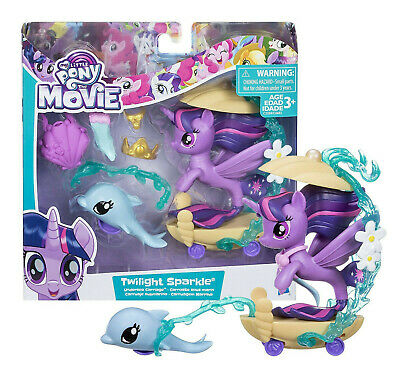 My Little Pony: The Movie Twilight Sparkle Undersea Carriage Playset Hasbro • 13.99£
