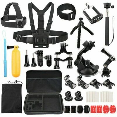 AU19.99 • Buy Head Chest Mount Floating Monopod Accessories For GoPro Hero 8 5 6 7 Camera Kit