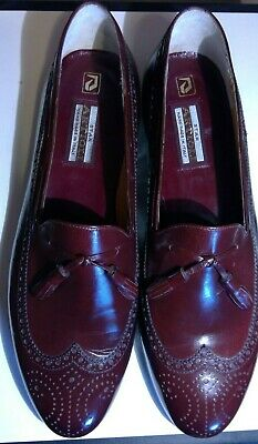 $ CDN267.25 • Buy Star Artioli Lavorazion Red Leather Mens Shoes Size 11d Hand Made