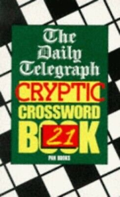 £17.99 • Buy Daily Telegraph  Cryptic Crossword Book: No... By Telegraph Group Limi Paperback