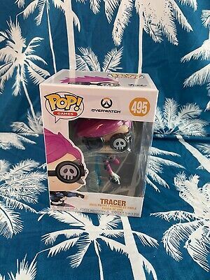 AU18 • Buy Overwatch: Tracer #495 Pop! Games Vinyl Figure - Funko