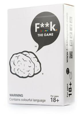 AU21.99 • Buy F**k. The Game Party Card Game Board Game F**K FK F--K The Game