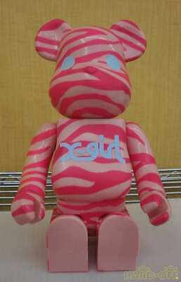 $140.47 • Buy Medicom Toy Bearbrick 400 X-Girl Pink Zebra Interior Toys