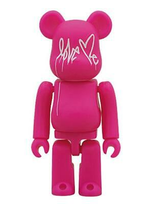 $106.98 • Buy Be Rbrick And A Pink Ver. Bearbrick 100