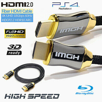 AU2 • Buy High Speed Ethernet HDMI Cable V2.0 3D 4K Ultra HD Premium 1m~20m Gold Plated AU