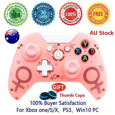 AU54.95 • Buy 🔥 Wireless Controller For Xbox One/Slim Blue Game Gamepad Joystick PC Pink Blue