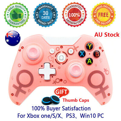 AU39.99 • Buy 🔥 Wireless Controller For Xbox One/Slim S/X Game Gamepad PC Gaming Pink Blue